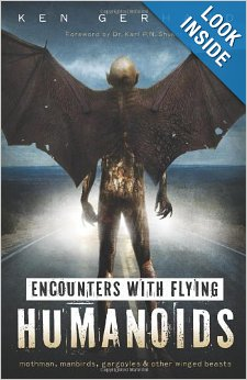 Encounters with Flying Humanoids: Mothman, Manbirds, Gargoyles & Other Winged Beasts